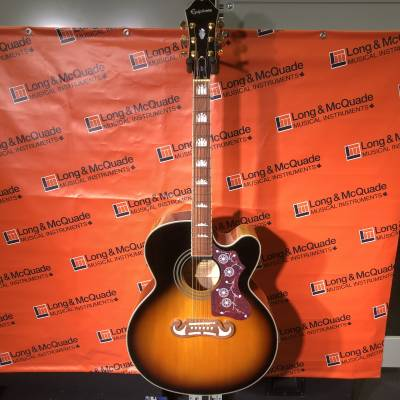 EJ-200SCE Super Jumbo Acoustic/Electric - Vintage Sunburst